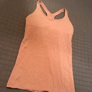 Lululemon work out tank size 6 built in bra